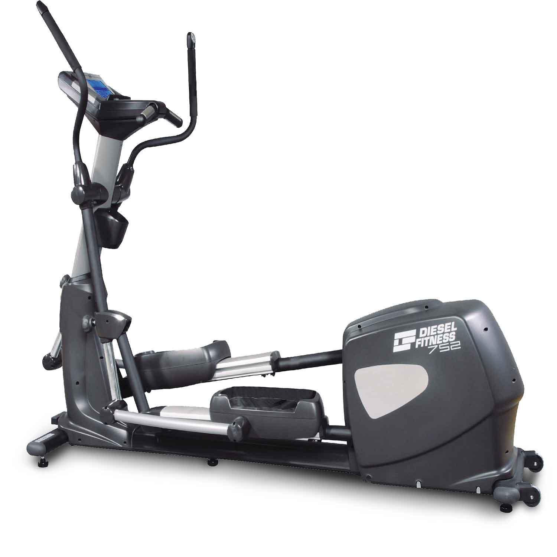 b diesel fitness 752 profesyonel eliptik bisiklet spor salonu tipi televizyonlu eliptik bisiklet